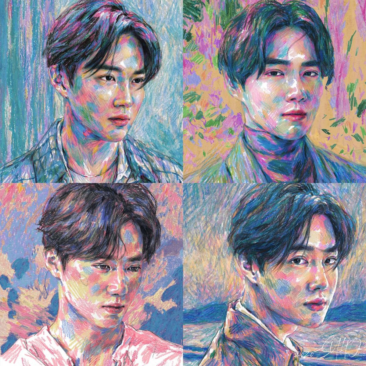 Suho (수호) – Self-Portrait – The 1st Mini Album [2020.03.30]