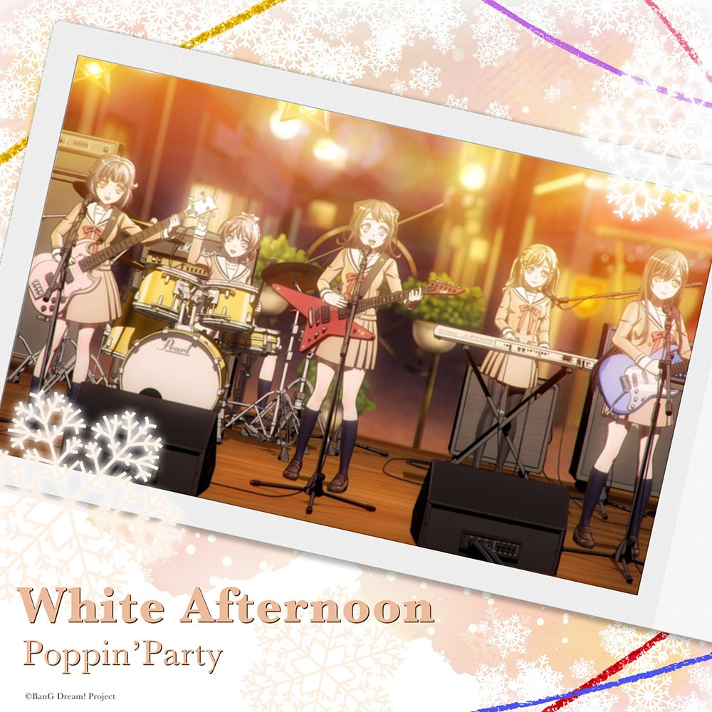 BanG Dream! / Poppin'Party – White Afternoon [24bit Lossless + MP3 320 / WEB] [2019.12.09]