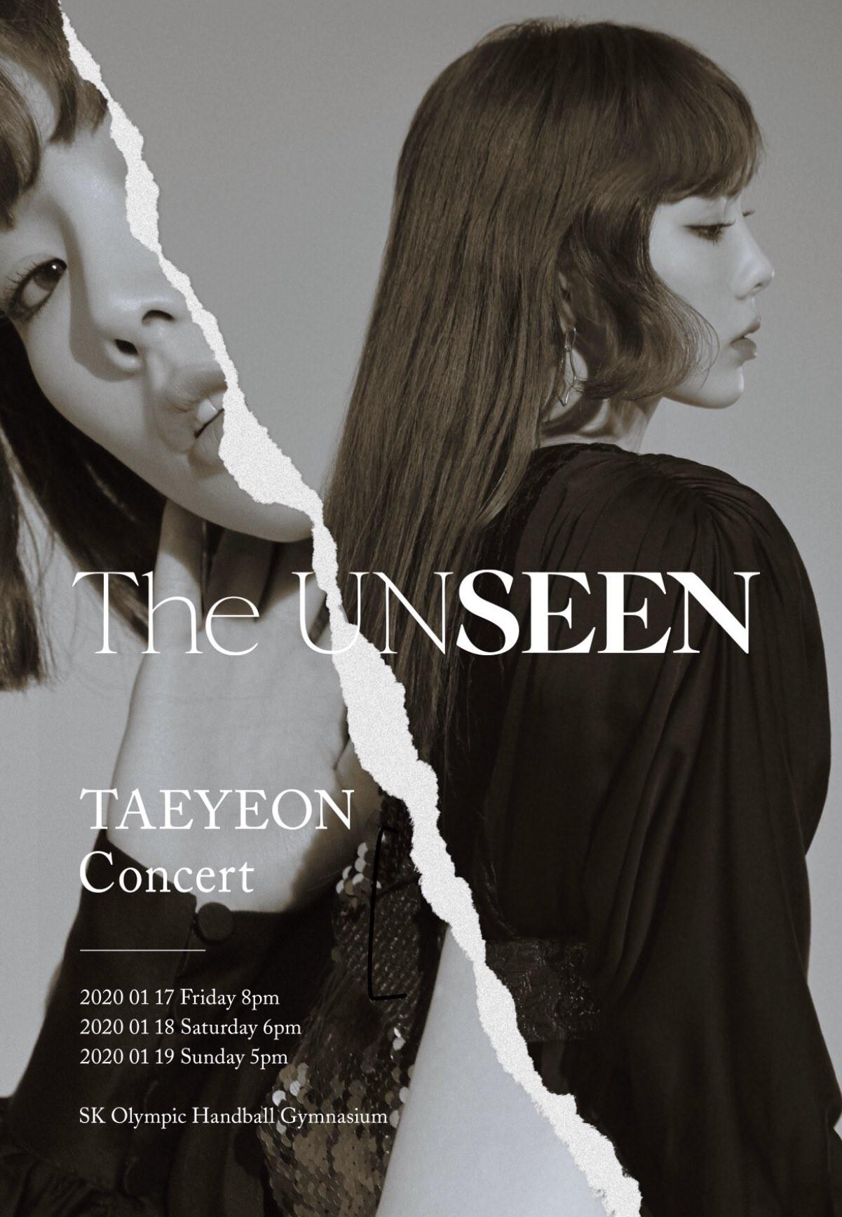 Taeyeon (태연) – The UNSEEN Taeyeon Concert In Seoul [MP4 1080p / WEB] [2020.06.23]
