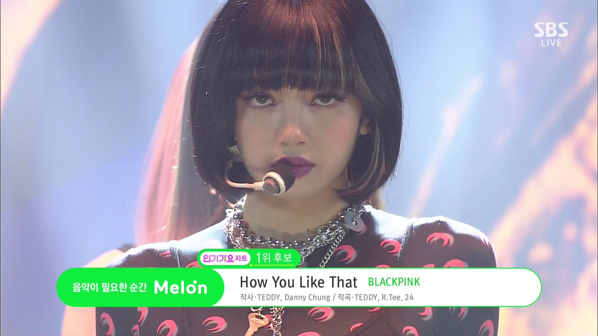 BLACKPINK – How You Like That + No.1 Encore [MPEG / 1080p / HDTV] (SBS Inkigayo 2020.07.12)