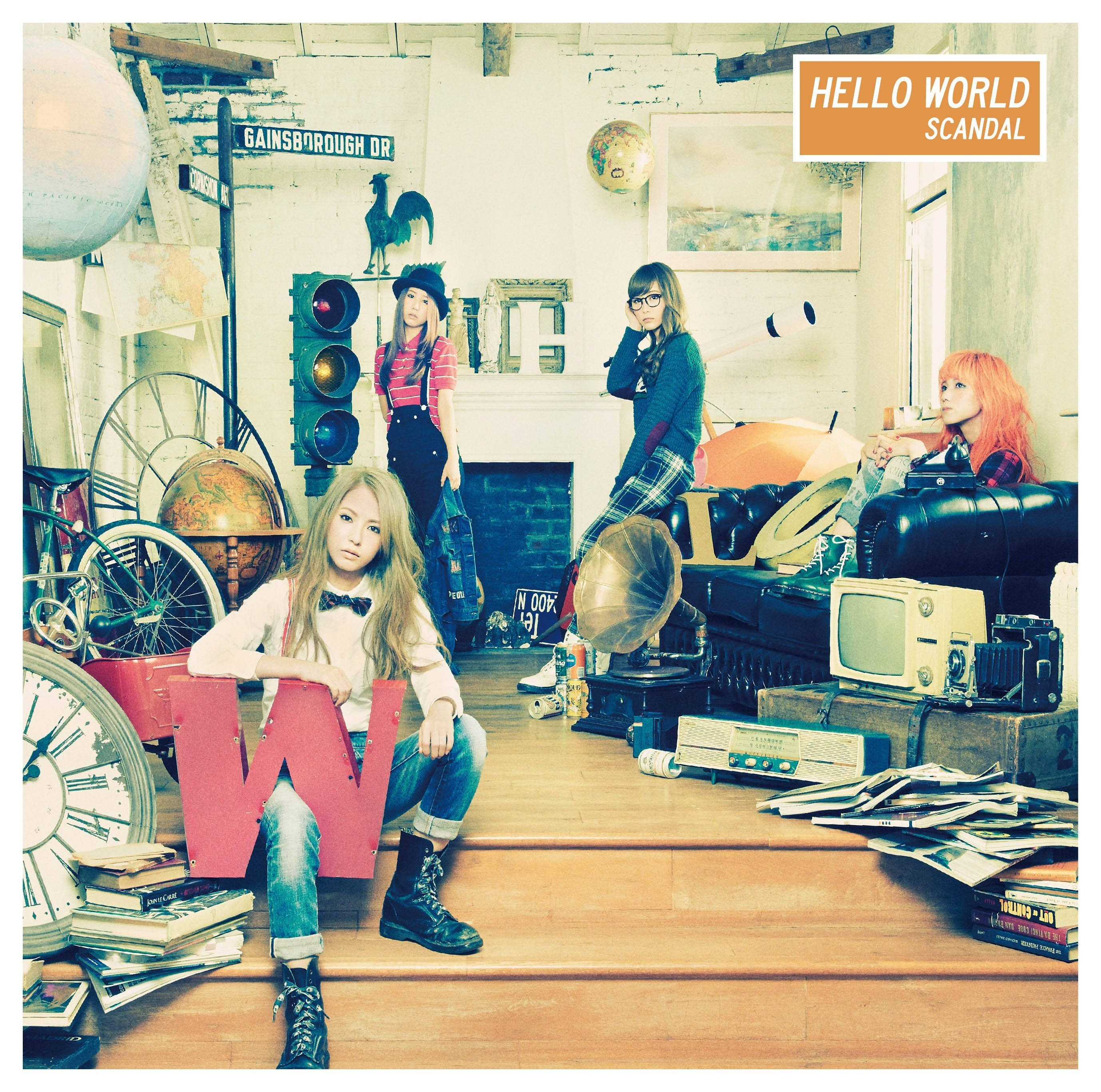 SCANDAL – HELLO WORLD [FLAC / 24bit Lossless / WEB] [2014.12.03]