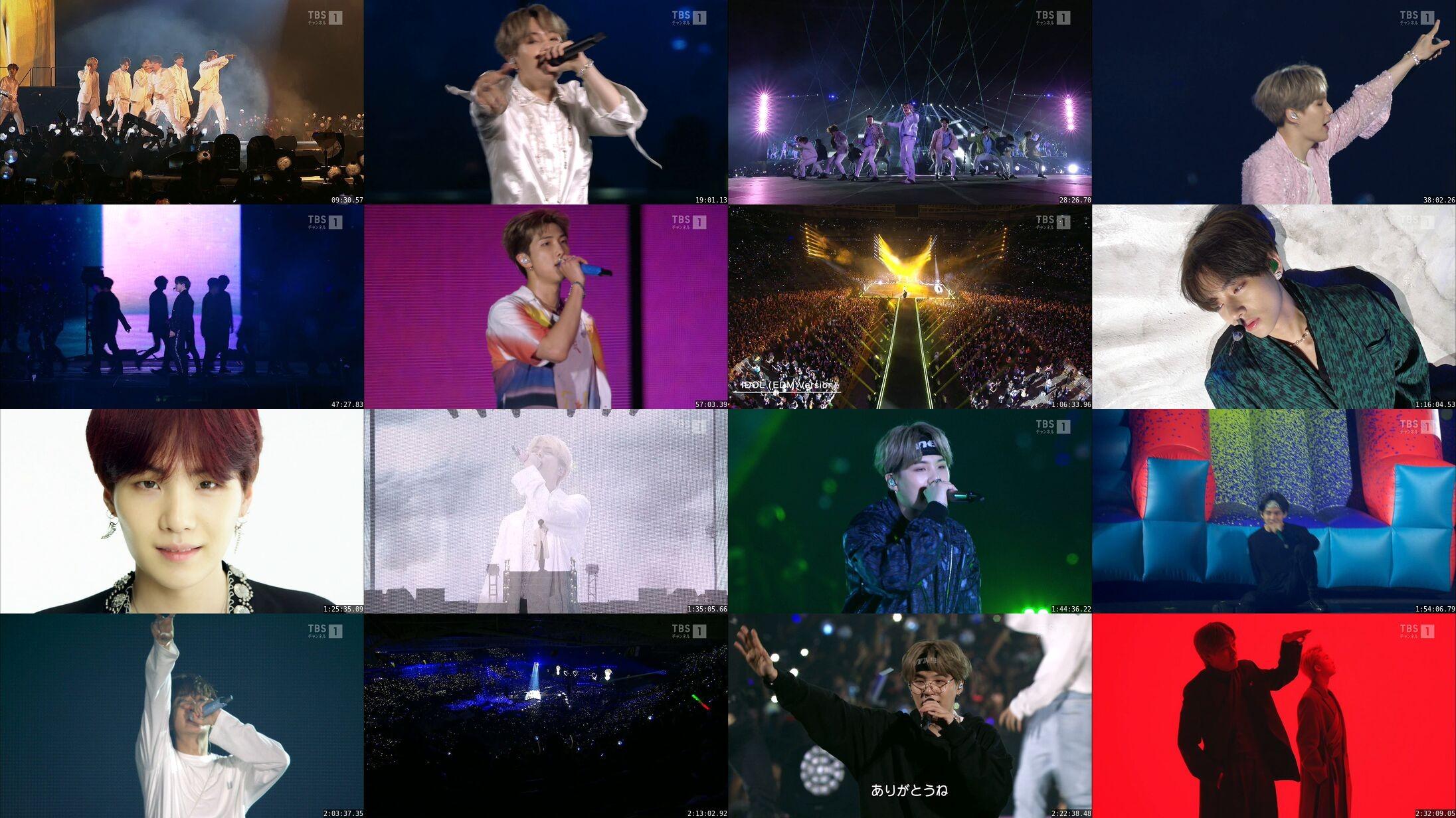BTS – BTS WORLD TOUR 'LOVE YOURSELF: SPEAK YOURSELF' SAO PAULO [MPEG2 / 1080i / HDTV]  (TBS Channel 1 2020.07.25)