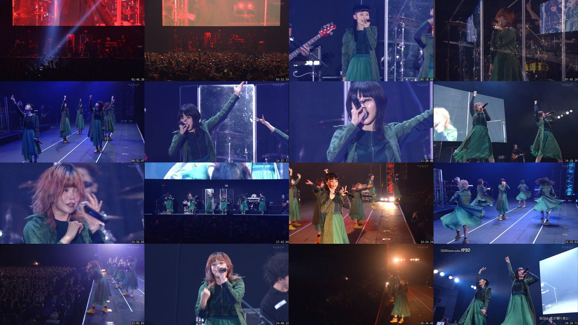 BiSH – COUNTDOWN JAPAN 19/20 Artist Special BiSH (WOWOW Live 2020.07.23)