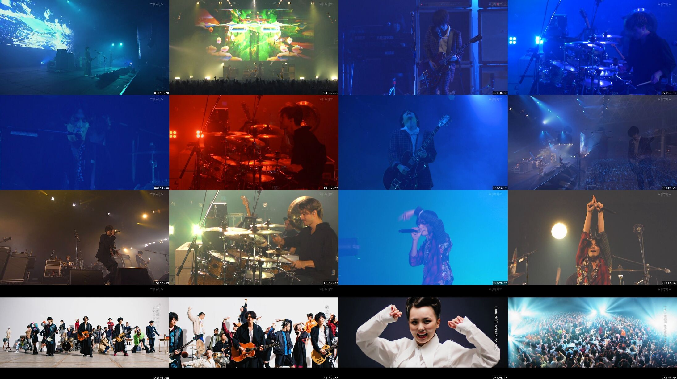 [ALEXANDROS] – COUNTDOWN JAPAN 19/20 Artist Special [ALEXANDROS] (WOWOW Live 2020.07.24)