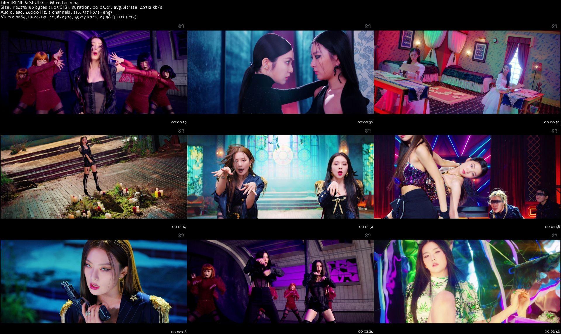 Red Velvet – IRENE & SEULGI – Monster [MP4 1080p / WEB / Bugs] [2020.07.06]