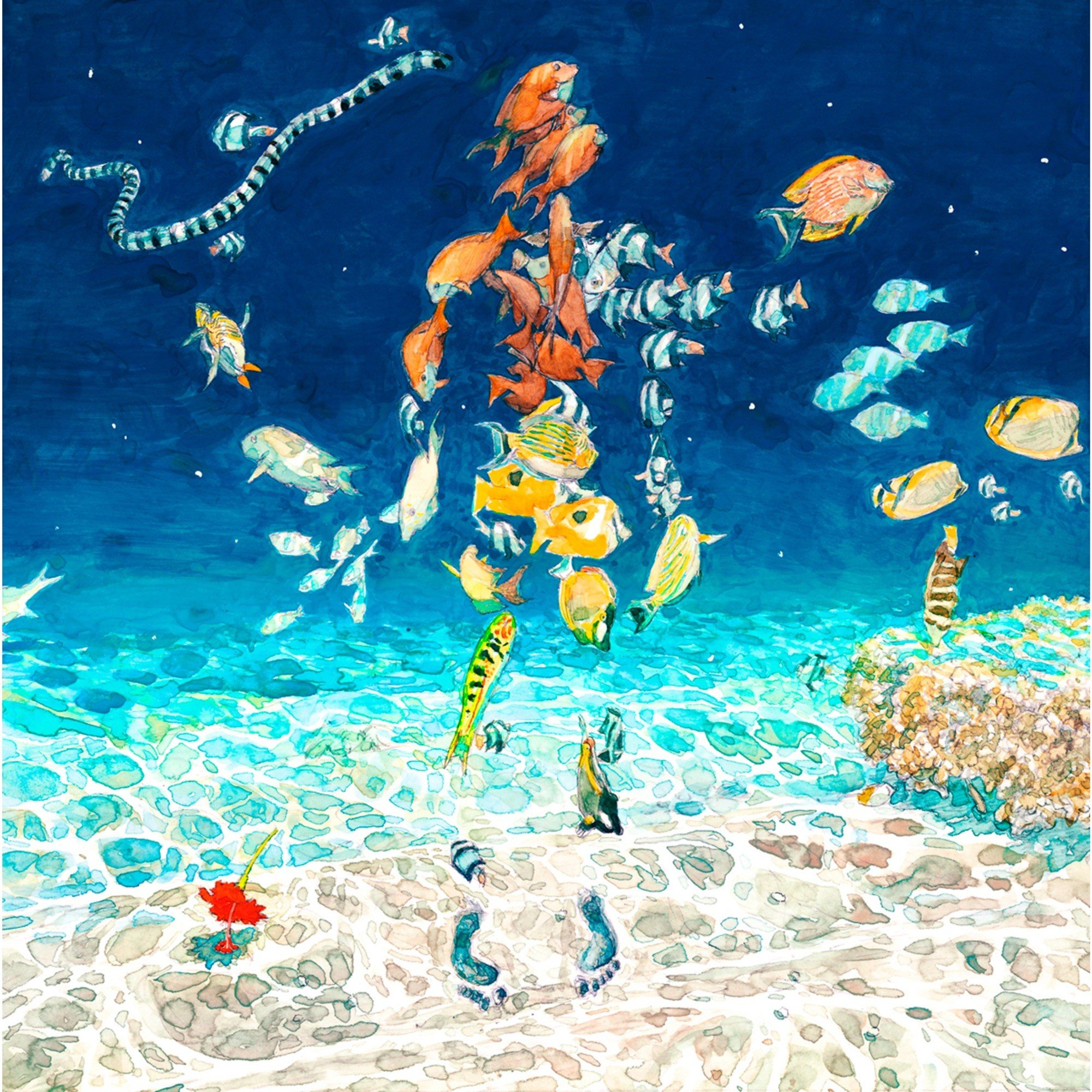 米津玄師 (Kenshi Yonezu) – 海の幽霊 [Mora FLAC 24bit/96kHz]
