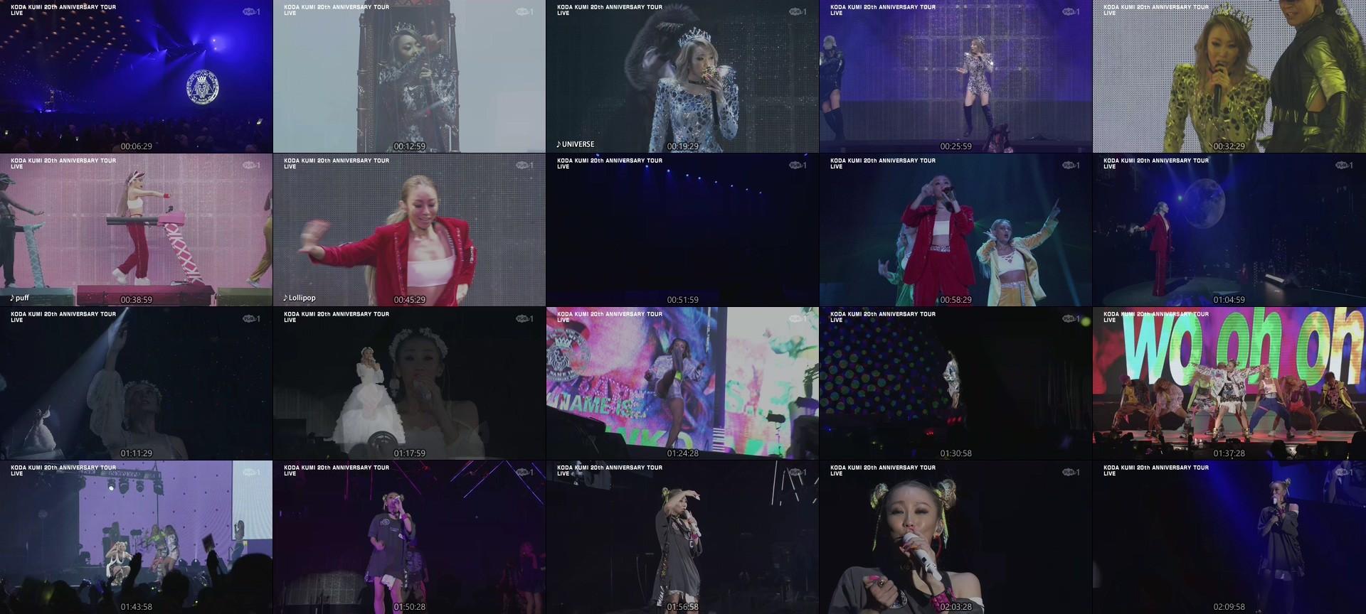 倖田來未 (Koda Kumi) – Live Broadcast! KODA KUMI 20th ANNIVERSARY TOUR 2020 MY NAME IS… in Osaka-Jo Hall (TeleAsa Ch1 2020.09.12)