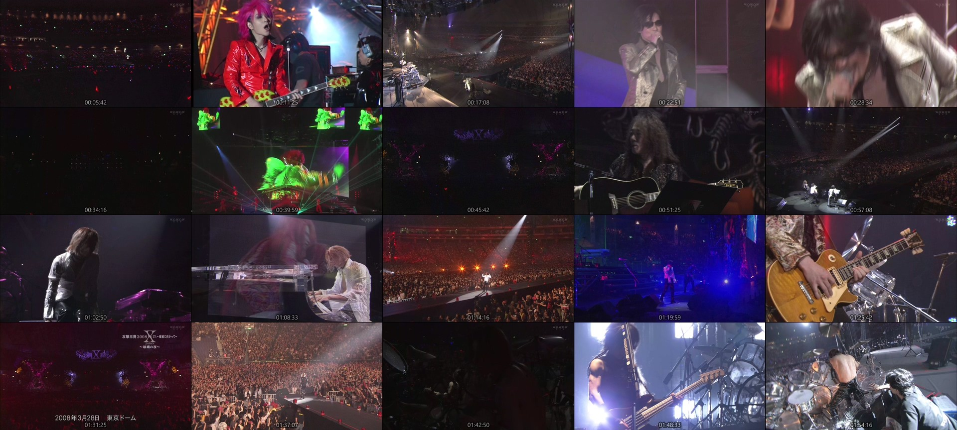 X JAPAN – X JAPAN to resume its attack in 2008 I.V. ~towards destruction~ / ~Night of Destruction~ (WOWOW Live 2020.09.10)