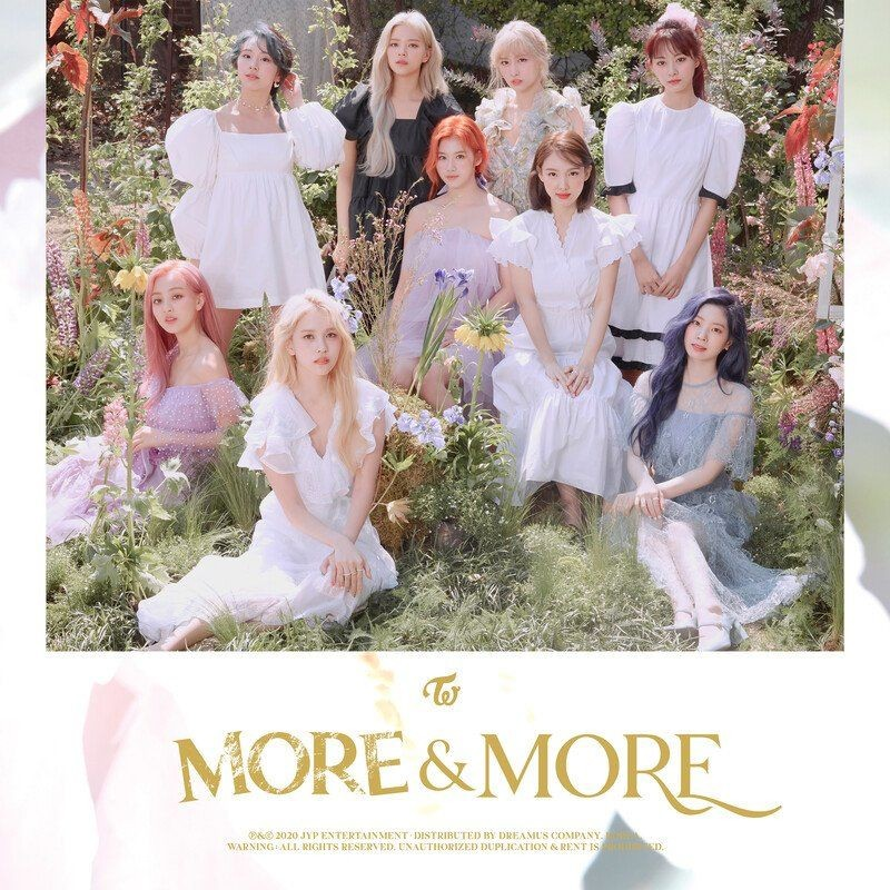 TWICE – MORE & MORE (English Version) [FLAC + MP3 320 / WEB] [2020.08.21]