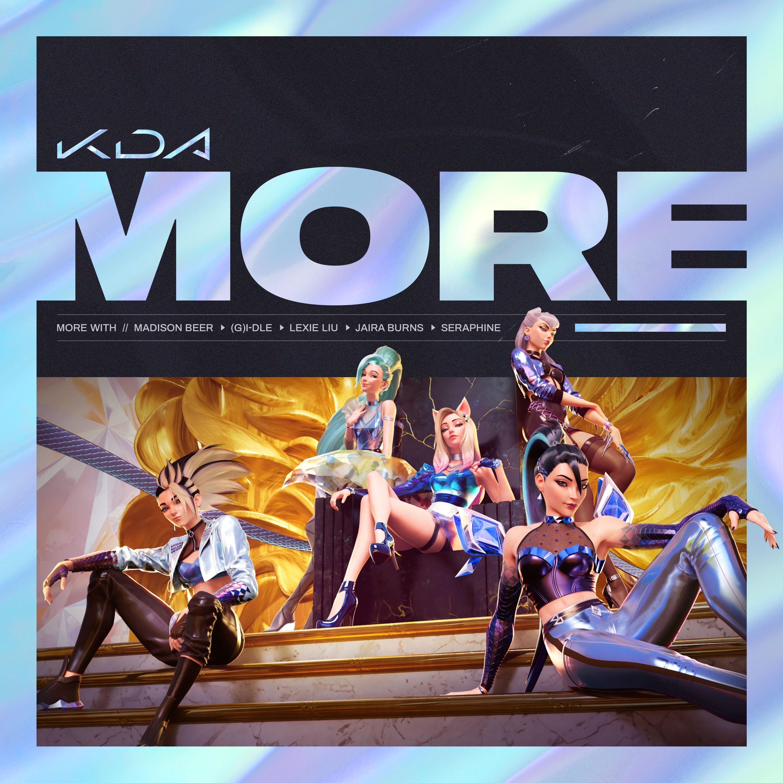 K/DA – MORE [24bit Lossless + MP3 320 / WEB] [2020.10.28]