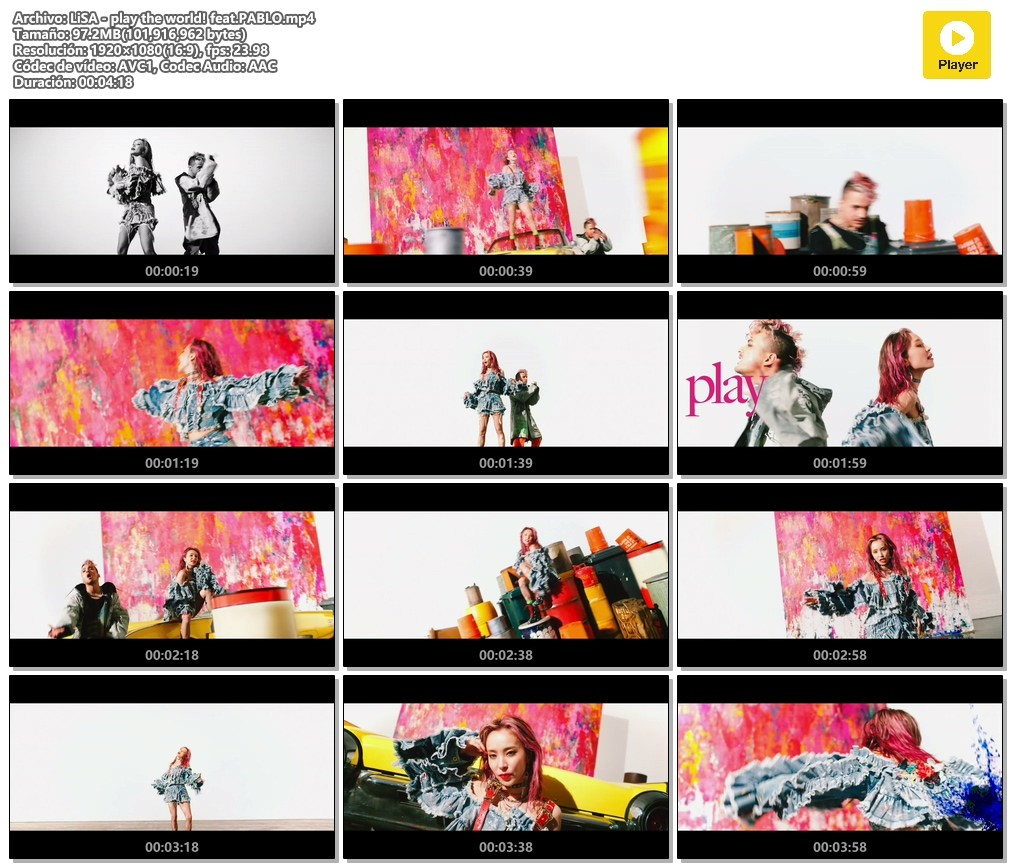 Lisa – play the world! feat.PABLO [MPEG2 / HDTV] [2020.10.14]