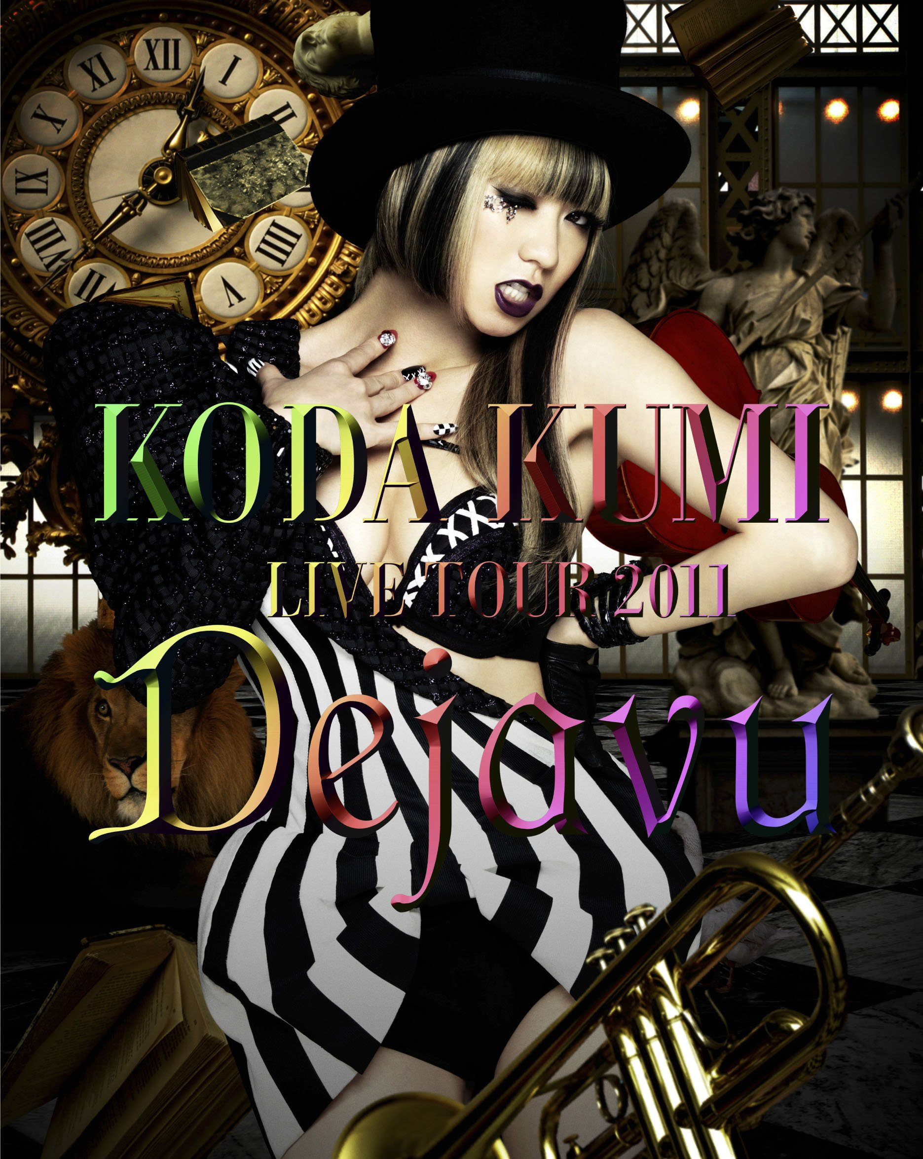 倖田來未 (Koda Kumi) – KODA KUMI LIVE TOUR 2011 ~Dejavu~ (2012) Blu-ray ISO + MKV 1080p