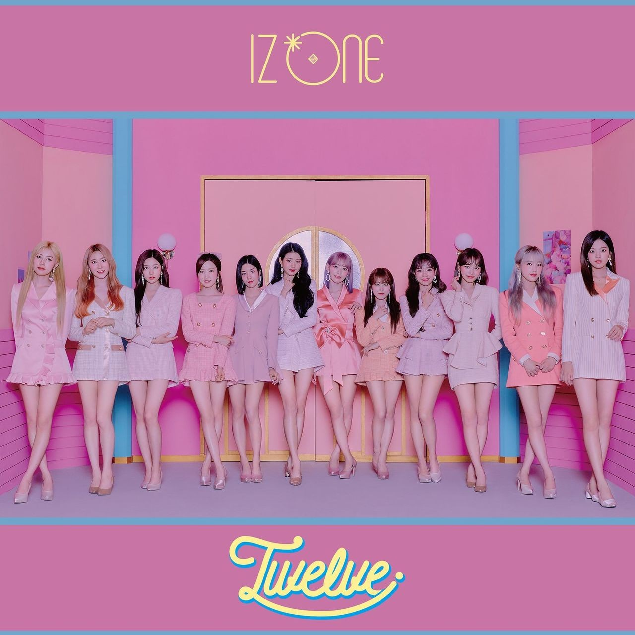 IZ*ONE – Twelve [CD FLAC + DVD ISO] [2020.10.21]