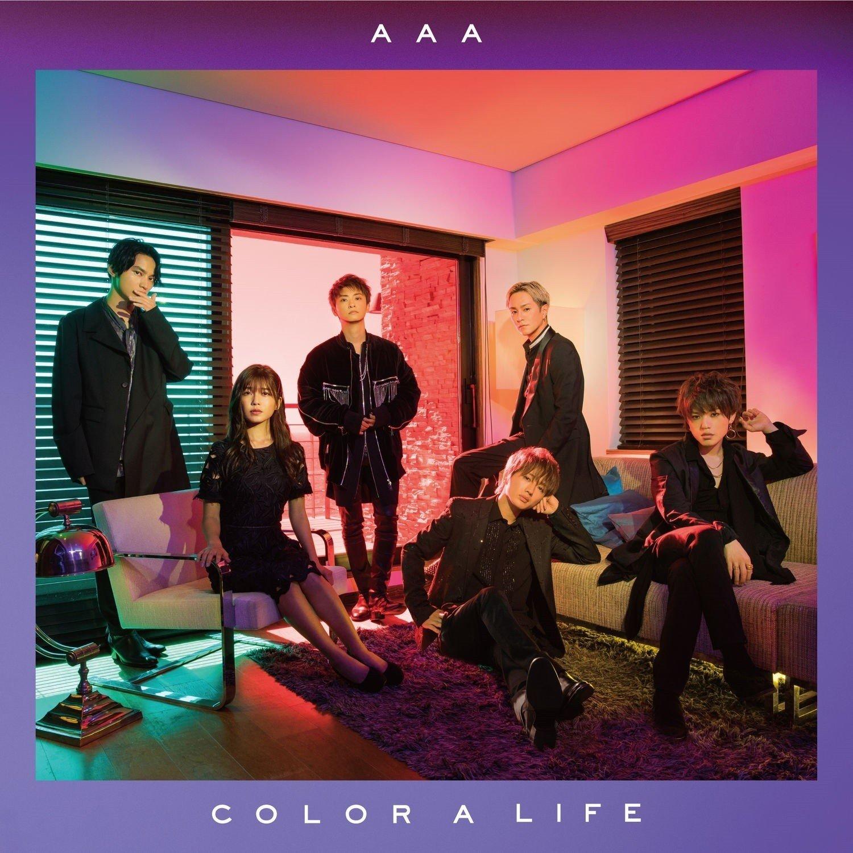 AAA – COLOR A LIFE [FLAC / 24bit Lossless / WEB] [2018.08.22]