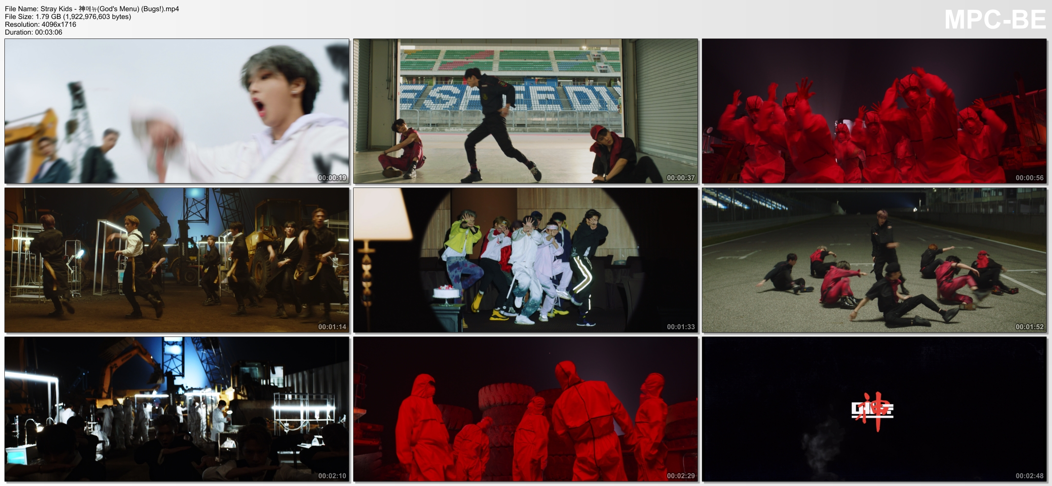 Stray Kids – God's Menu [MP4 2160p / WEB / Bugs] [2020.06.17]