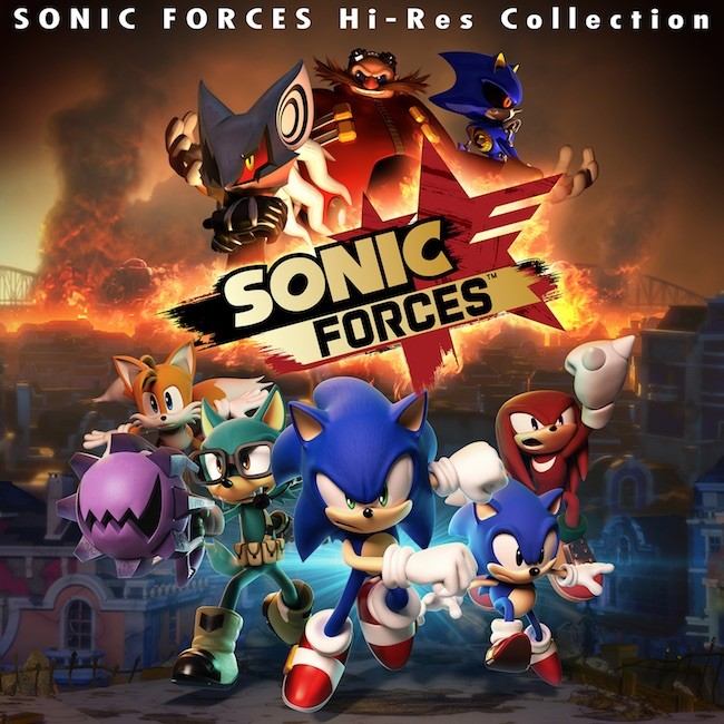 SEGA – Sonic Forces Hi-Res Collection [FLAC / 24bit Lossless / WEB] [2017.12.13]