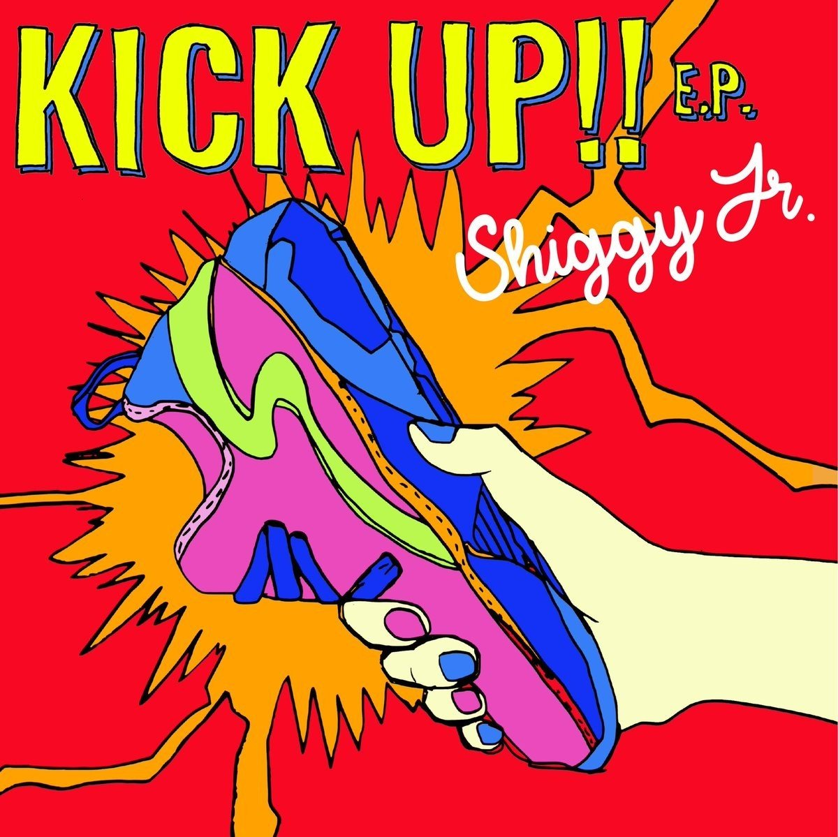 Shiggy Jr. – KICK UP!! E.P. [FLAC / 24bit Lossless / WEB] [2018.05.23]