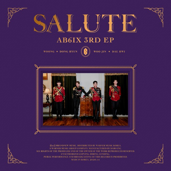 AB6IX (에이비식스) – SALUT [FLAC / 24bit Lossless / WEB] [2020.11.02]