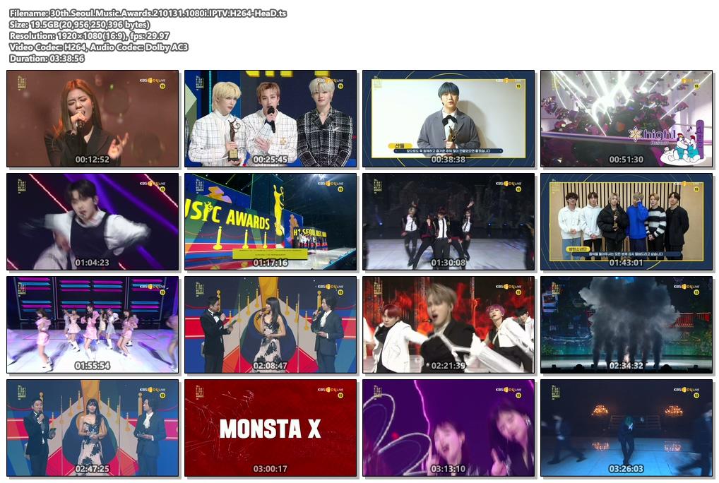 Seoul Music Awards – The 30th Seoul Music Awards (KBS Joy 2021.01.31) [HDTV 1080p]