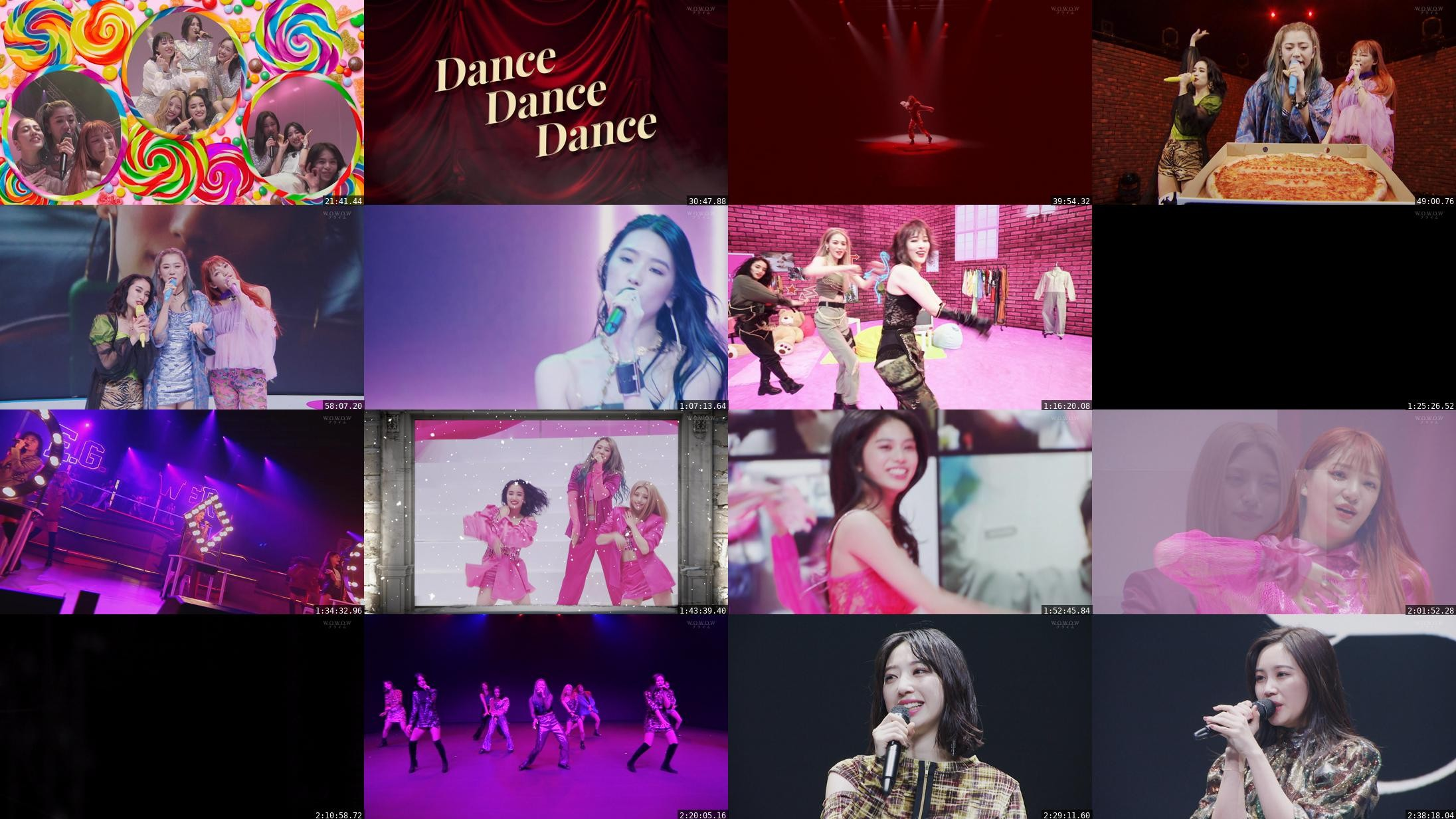 E-girls – E-girls/Happiness/スダンナユズユリー「LIVE×ONLINE BEYOND THE BORDER」 (WOWOW Prime 2021.02.21)