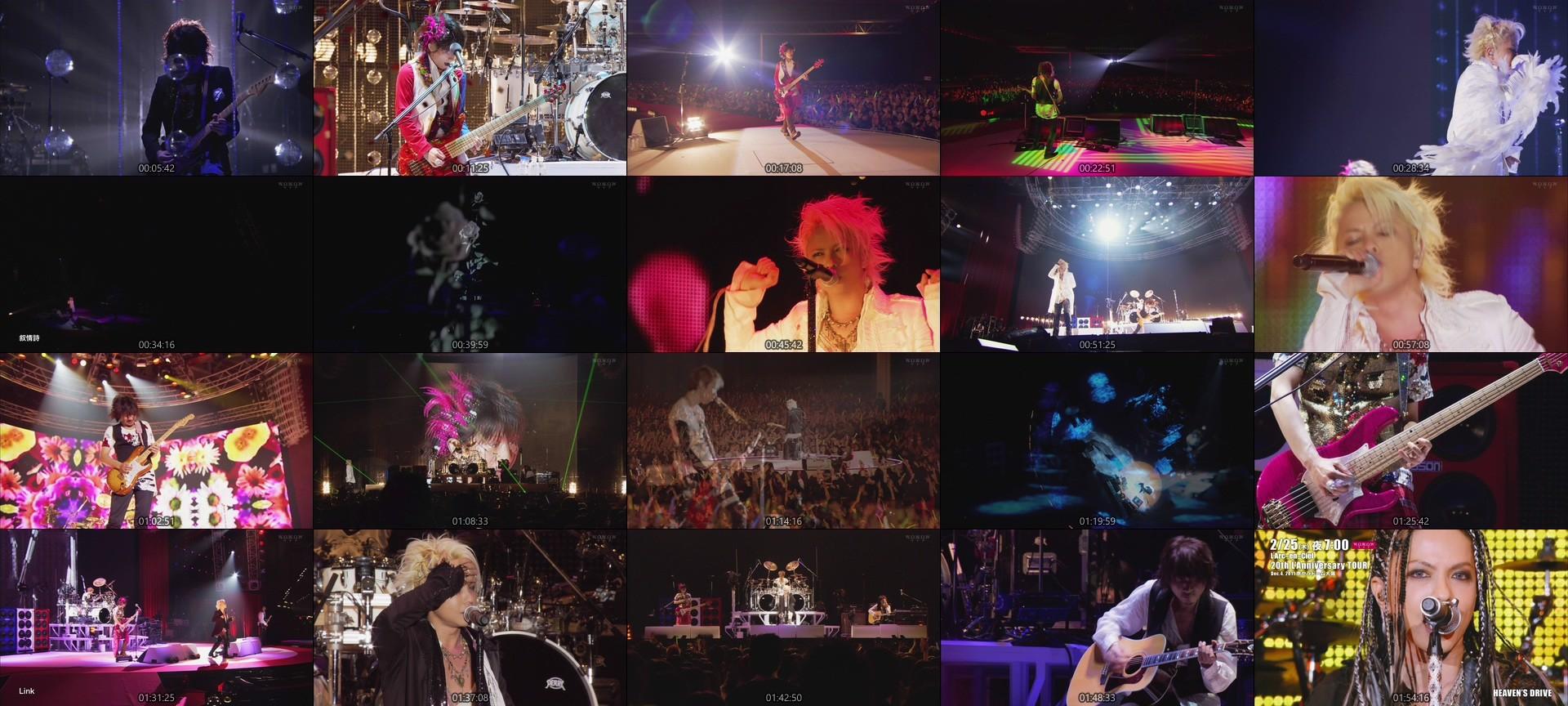 "L'Arc~en~Ciel – L'Arc~en~Ciel「20th L'Anniversary Starting Live ""L'A HAPPY NEW YEAR!""」 Jan. 1, 2011 幕張メッセ国際展示場9-11 (WOWOW Live 2021.02.23)"