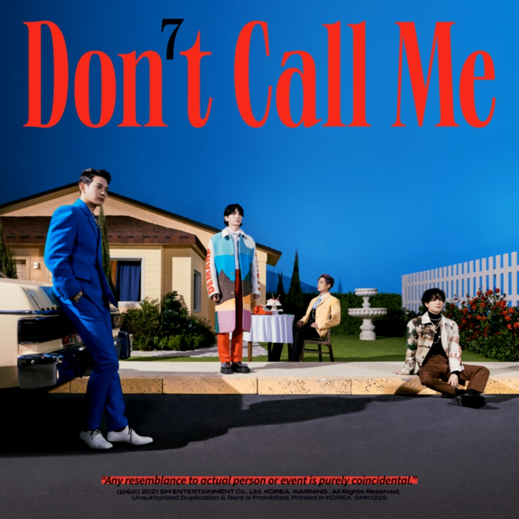 SHINee (샤이니)  – Don't Call Me – The 7th Album [FLAC + MP3 320 / WEB] [2021.02.22]