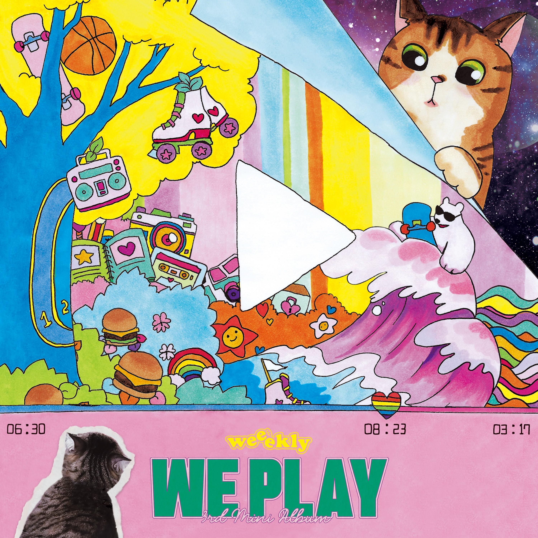 Weeekly (위클리) – We Play [24bit Lossless + MP3 320 / WEB] [2021.03.17]