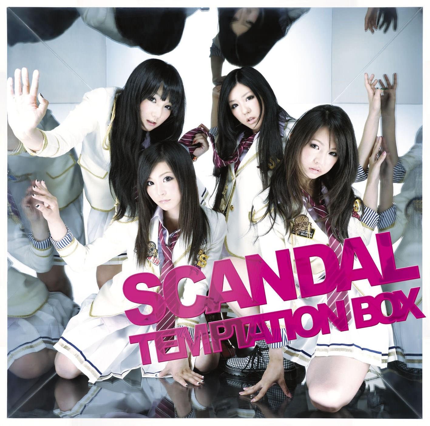 SCANDAL – TEMPTATION BOX [FLAC / 24bit Lossless / WEB] [2010.08.11]