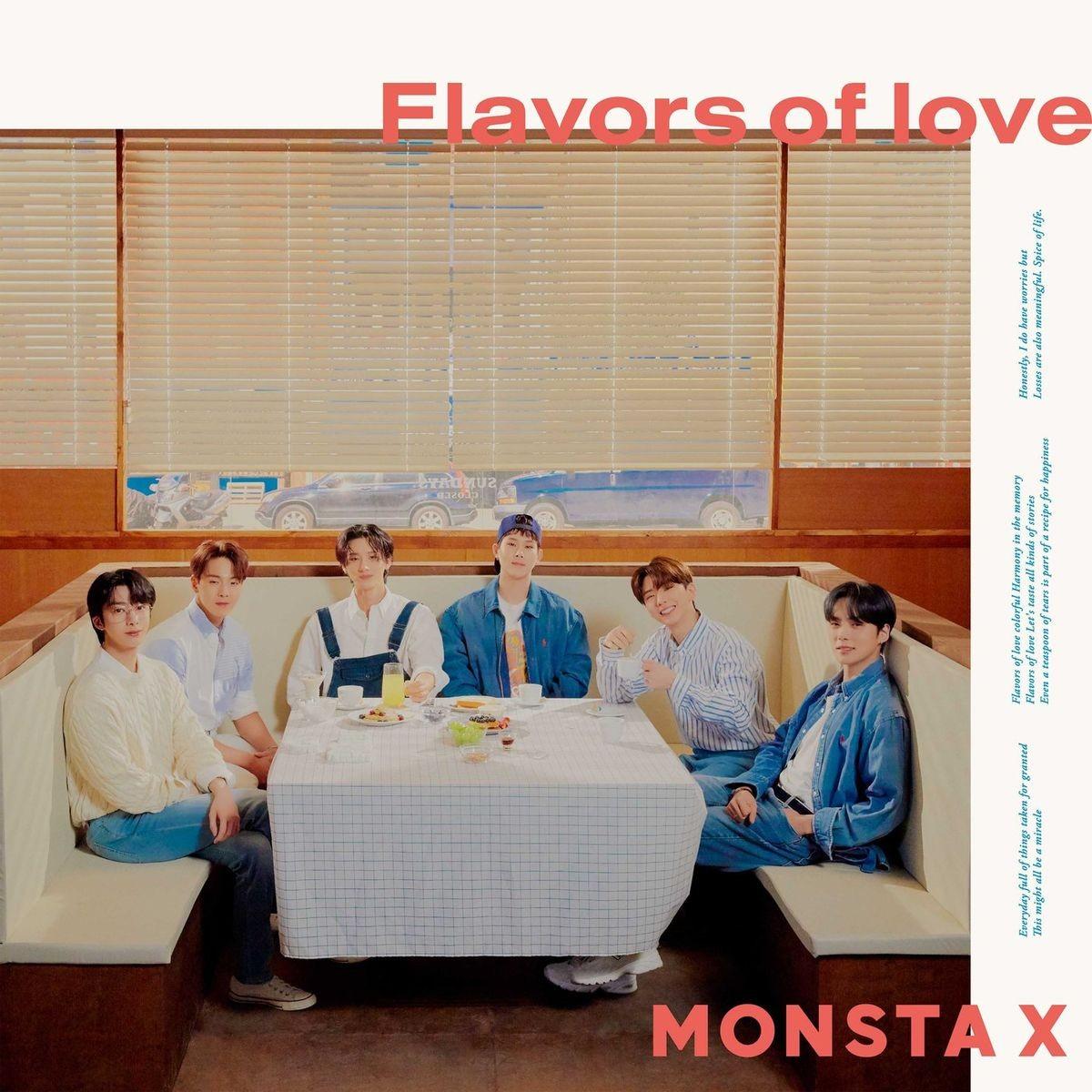 MONSTA X (몬스타엑스) – Flavors Of Love [FLAC / WEB] [2021.05.05]