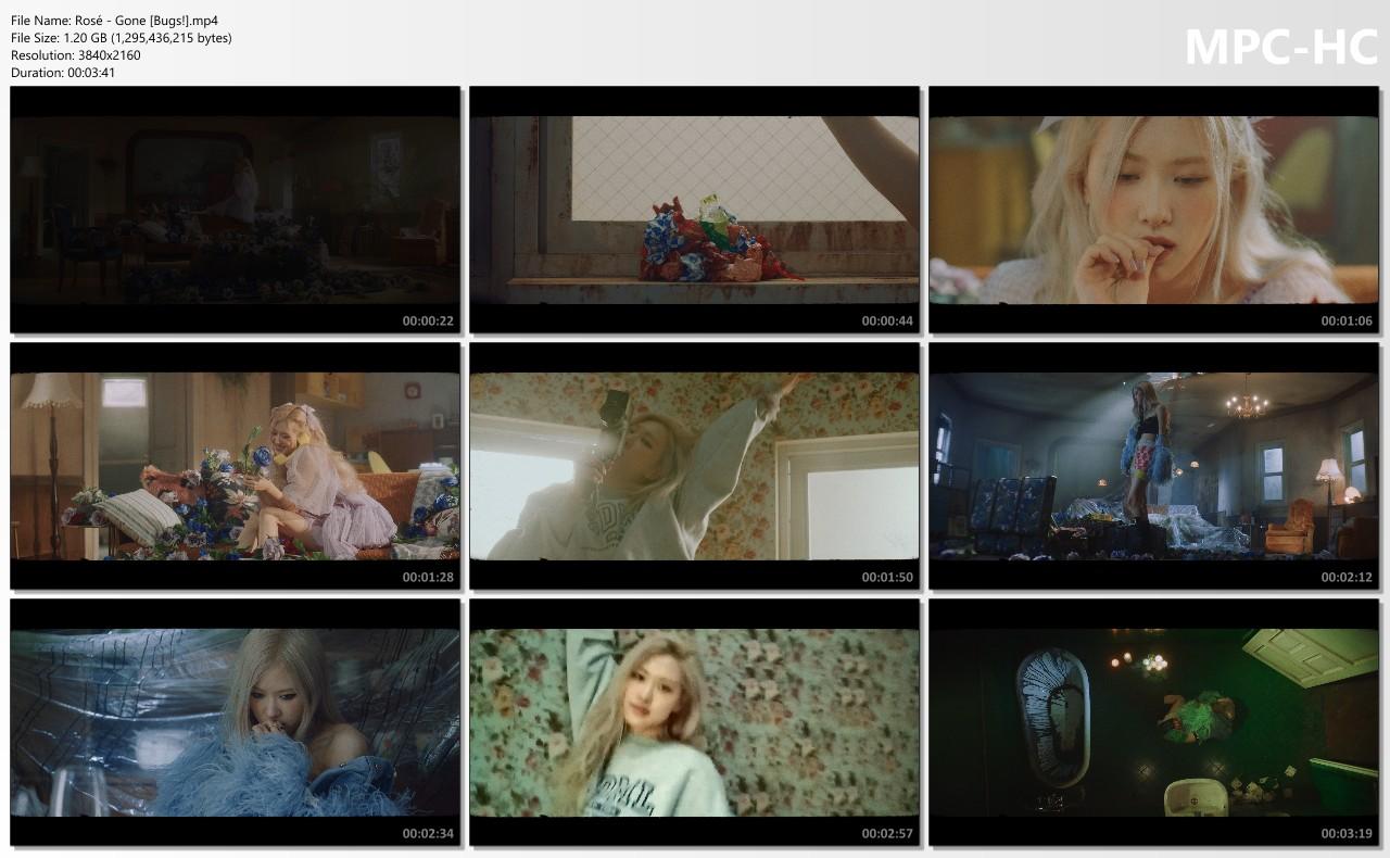 Rose (로제) – Gone [MP4 2160p / WEB / Bugs]  [2021.04.05]