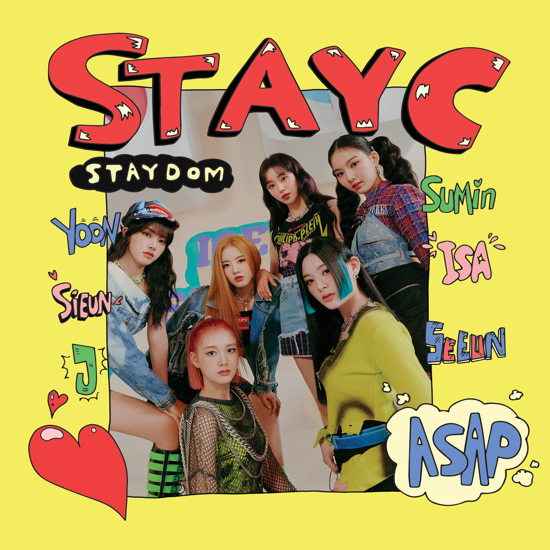 STAYC (스테이씨) – Staydom [FLAC / CD] [2021.04.08]