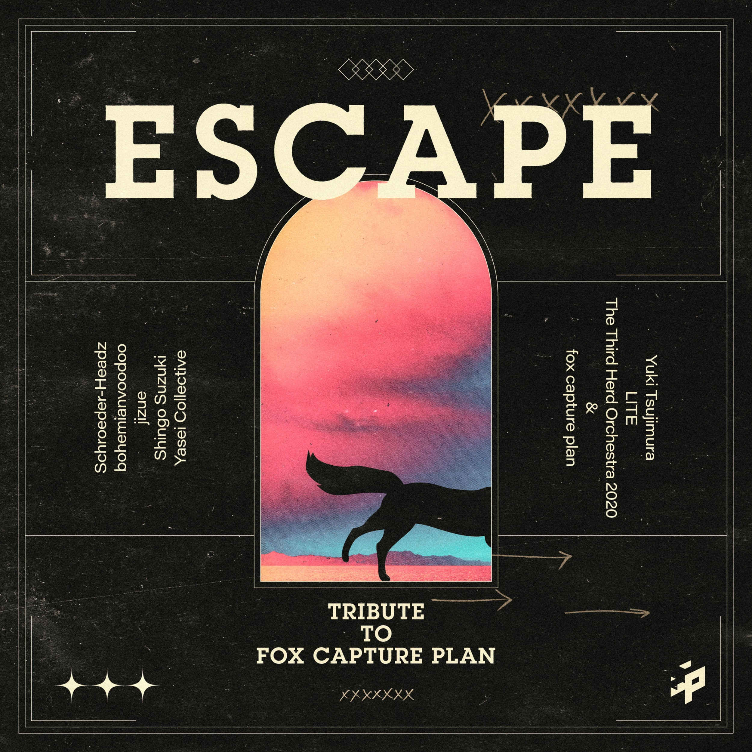 VA – ESCAPE -Tribute to fox capture plan- [FLAC / WEB] [2021.07.21]