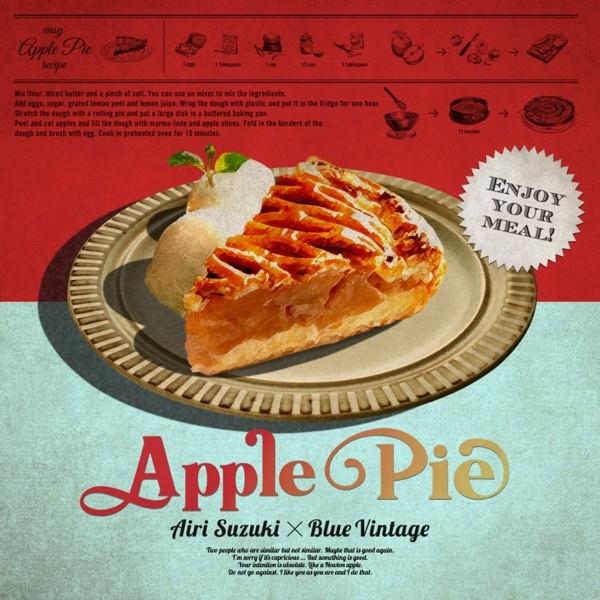 鈴木愛理 (Airi Suzuki) x Blue Vintage – Apple Pie [FLAC / 24bit Lossless / WEB] [2021.04.12]