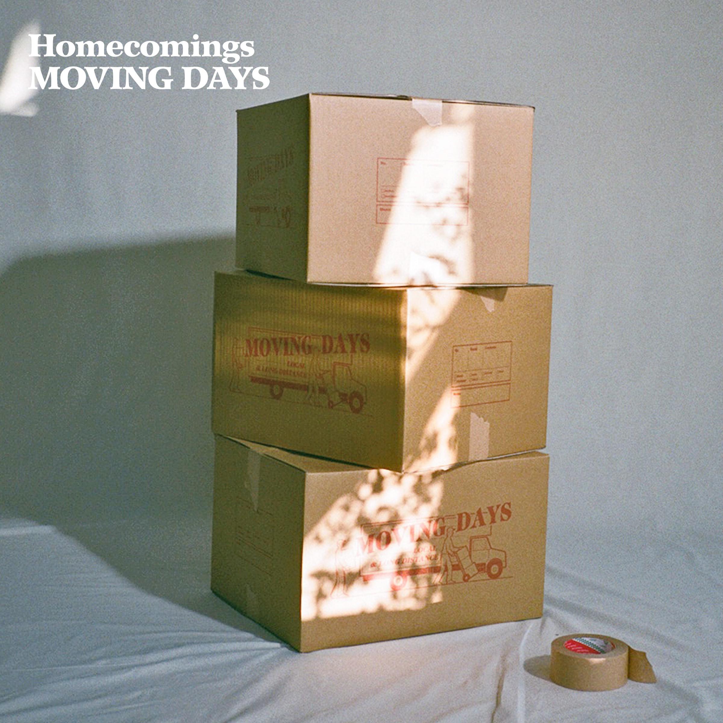 Homecomings – Moving Days [FLAC / 24bit Lossless / WEB] [2021.05.12]