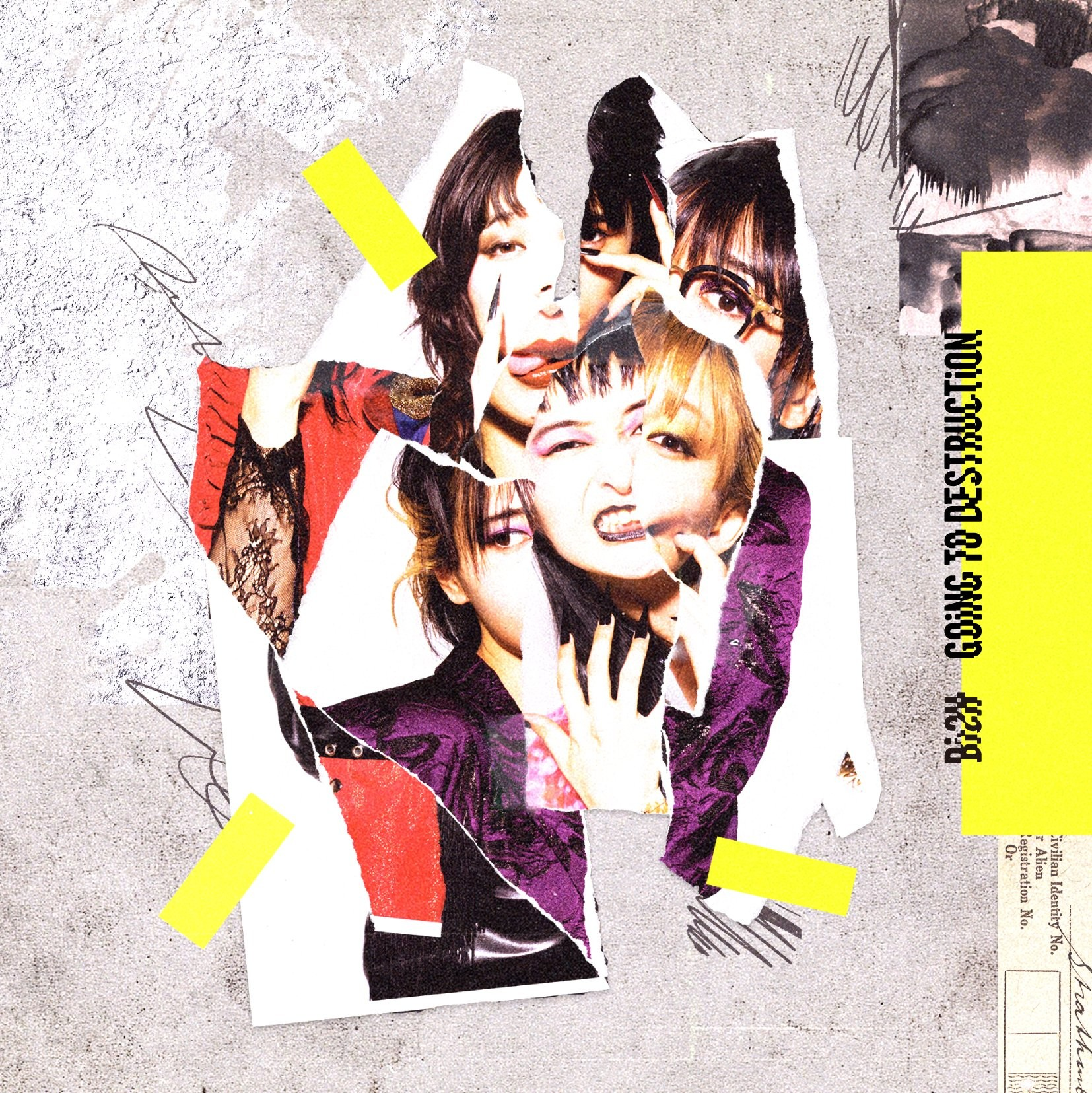 BiSH – GOiNG TO DESTRUCTiON [24bit Lossless + MP3 320 / WEB] [2021.08.04]