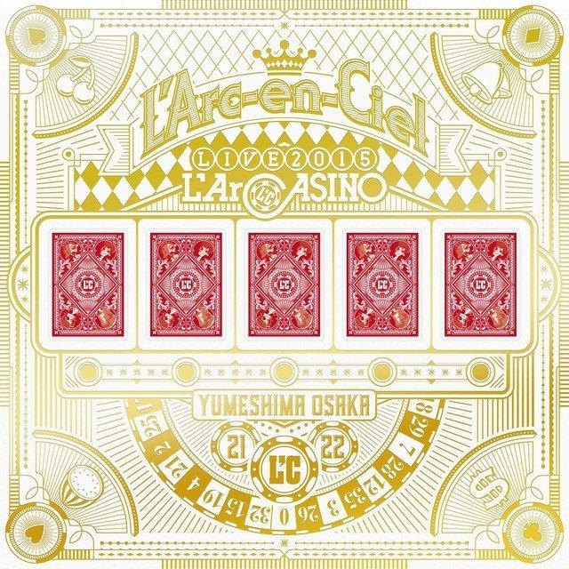 'Arc~en~Ciel – L'Arc~en~Ciel LIVE 2015 L'ArCASINO [Vinyl FLAC 24bit/96kHz]
